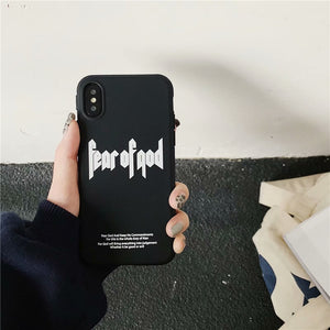 Fear Of God iPhone Case