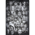 Legends of Rap Wall Art