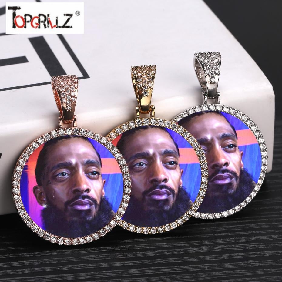 LONG LIVE THE ICON NIPSEY HUSSLE ICED CHAIN