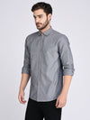 Rigo Blue Chambray Shirt-Full