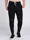 Rigo Black  Zip Detail jogger-Full