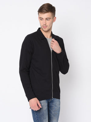 Rigo Black Terry Harrington Jacket For Men