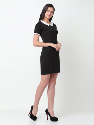 Rigo Black Bodycon Dress For Women