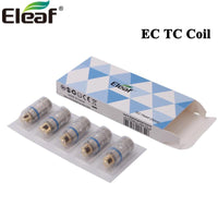 5pcs Eleaf EC TC Coil Head