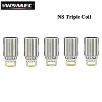 5pcs Wismec NS Triple 0.25ohm Coil Replacement Head