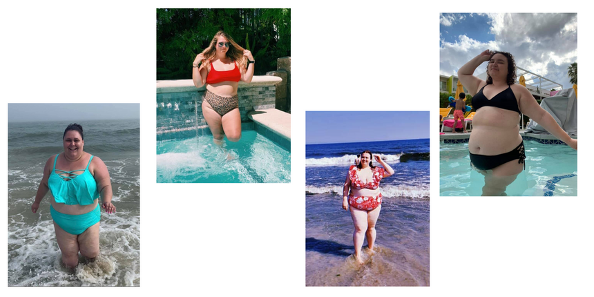 10 Plus-Size Women On The First Time They Wore a Bikini