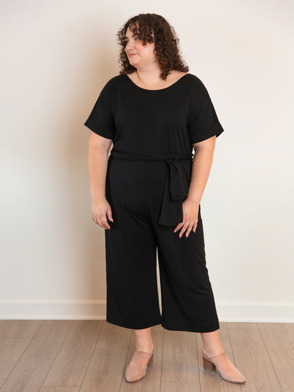 The French Terry Jumpsuit - Ori