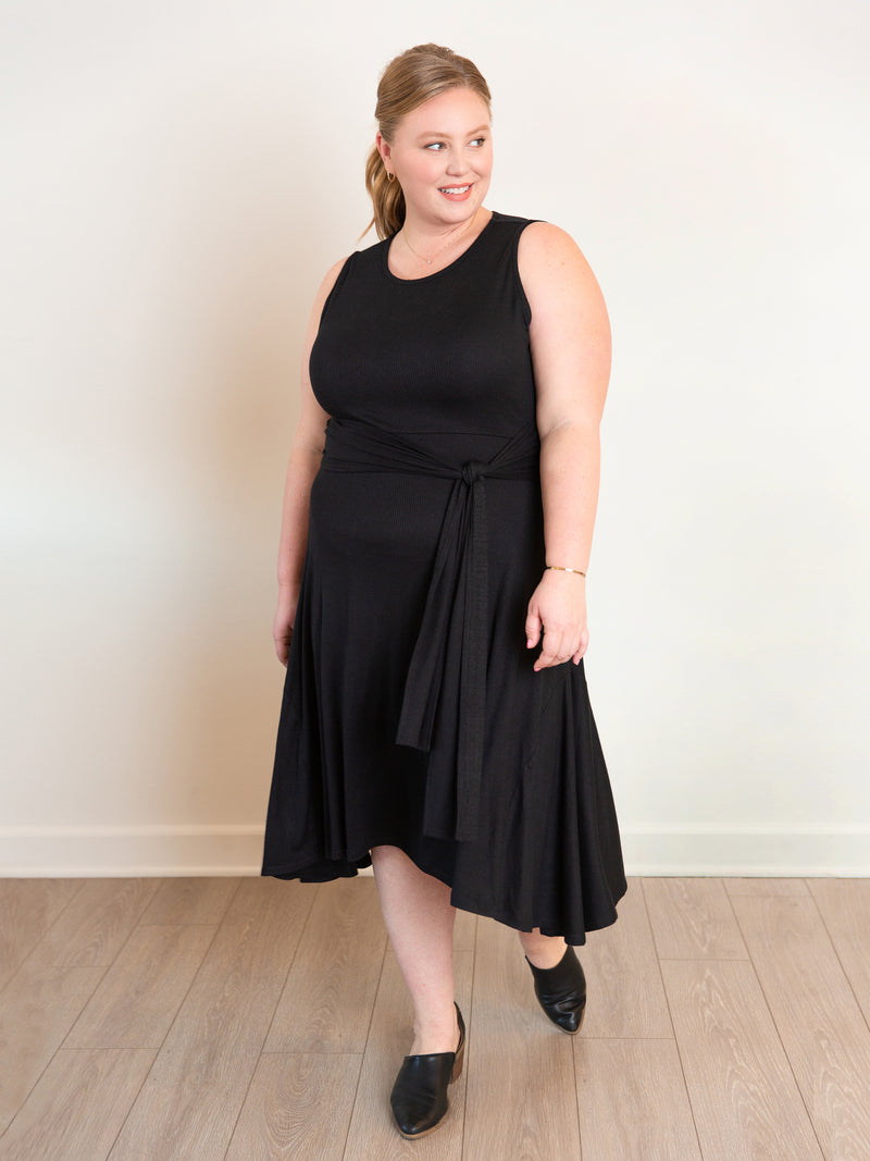 The Everywhere Plus-Size Midi Dress - Ori Plus Size Online Boutique