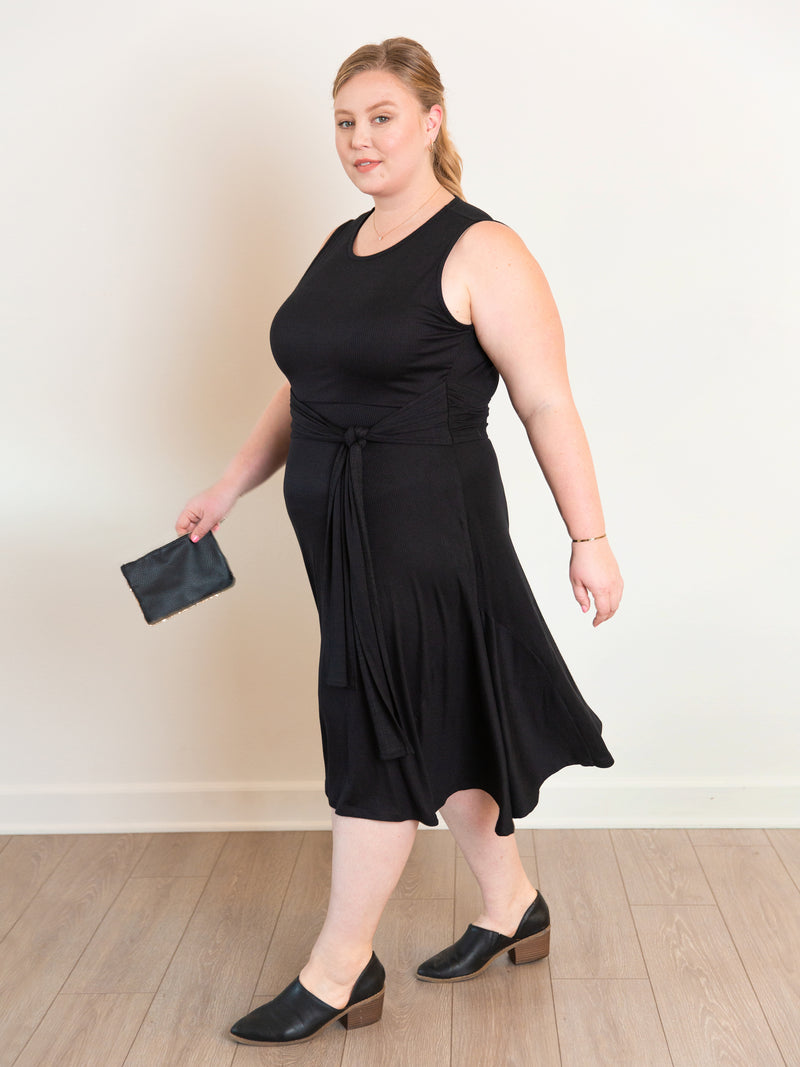 (Sale) The Super Soft Midi Dress - Ori