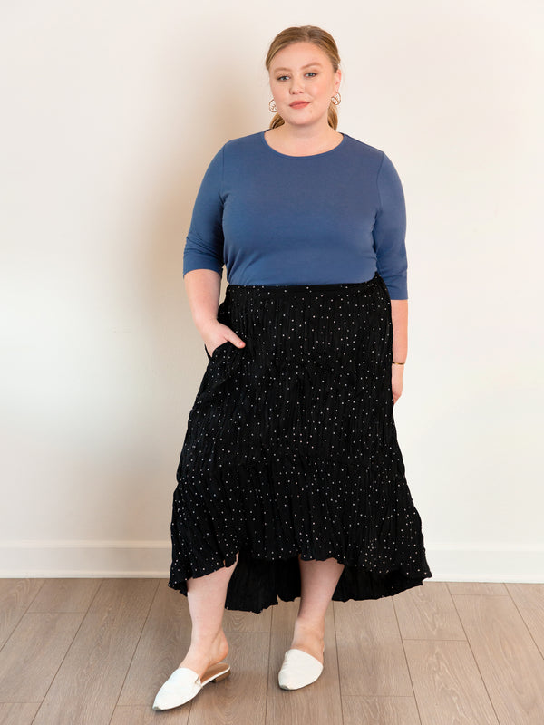 (Best-Seller) · The Easy Breezy Plus Size Skirt - Ori Plus Size Online Boutique