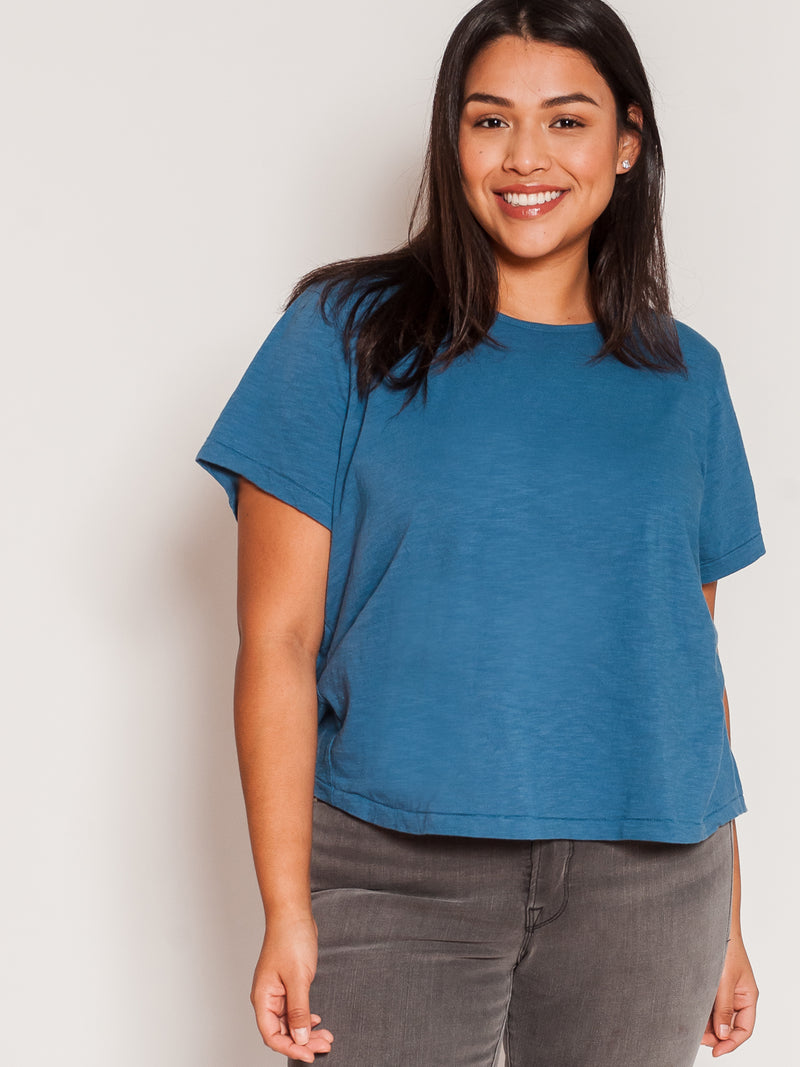 (SALE) The Perfect Tee Petite  ·  Short Sleeve - Ori Plus Size Online Boutique
