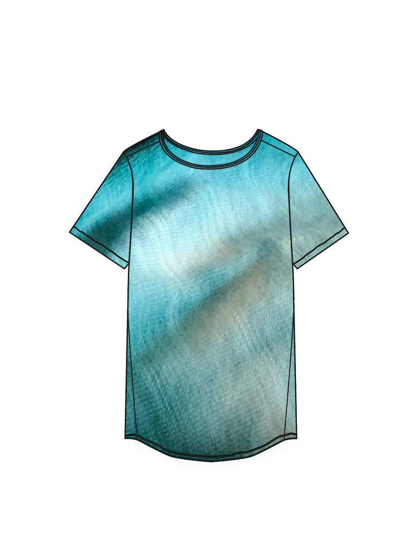 The Tie Dye CloudSoft Tunic - Ori Plus Size Online Boutique