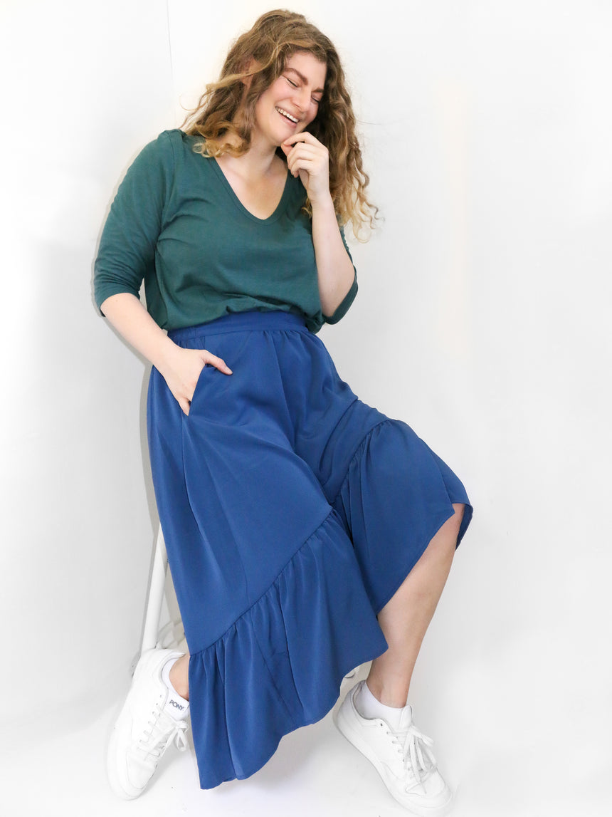 (Sale) The Swept Away Maxi Skirt - Ori Plus Size Online Boutique