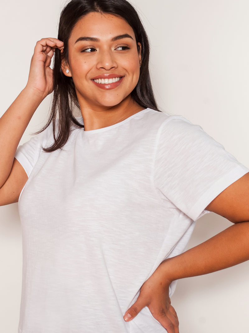 (PETITE) The Perfect Tee  ·  Short Sleeve