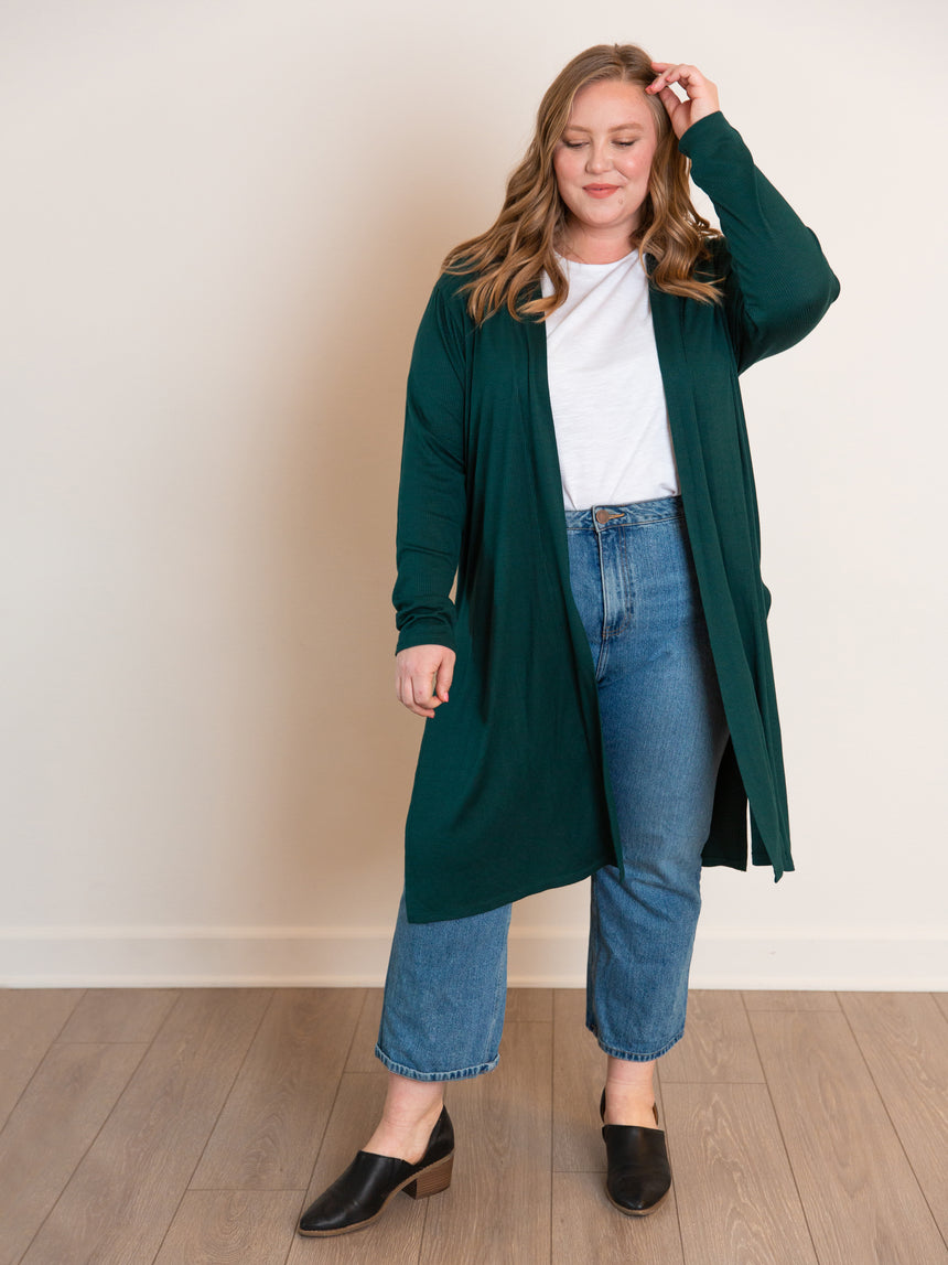 The Super Soft Swingy Duster - Ori Plus Size Online Boutique