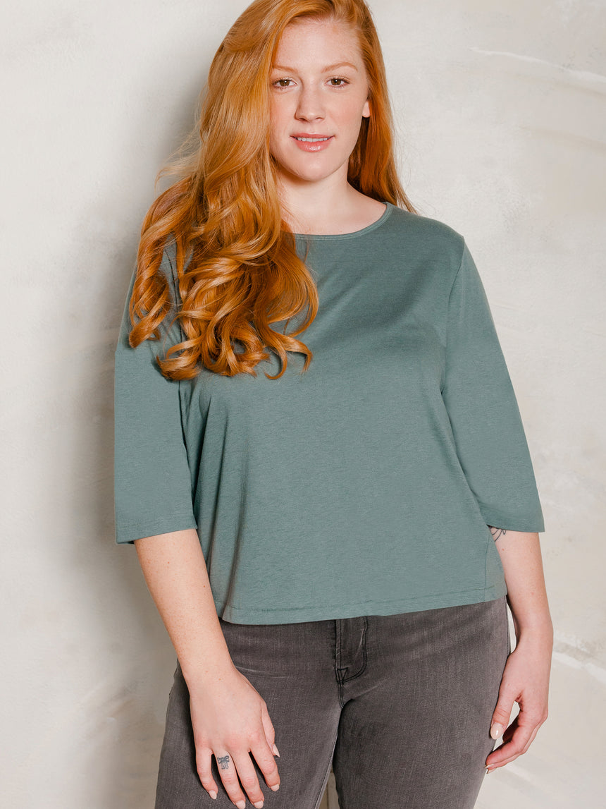 The Micro-Crop Tee - Ori Plus Size Online Boutique