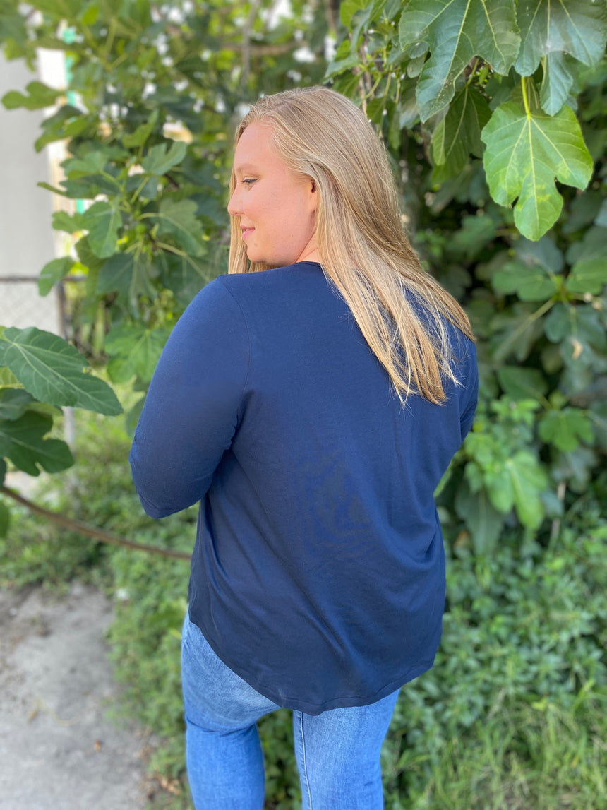 The Made-In-LA Air Tee - Ori Plus Size Online Boutique