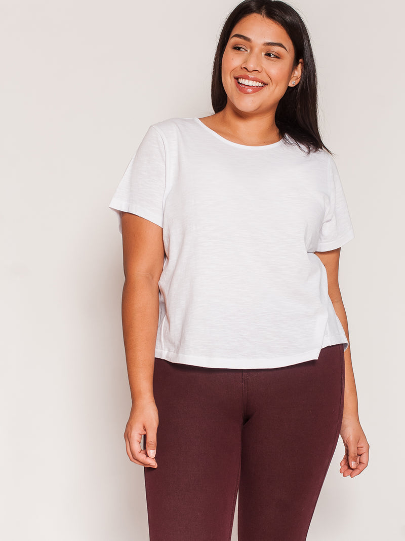 (Final Sale) The Petite Tee - Ori Plus Size Online Boutique