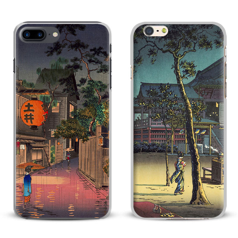 Ukiyo-e Japanese Art Vintage iPhone case