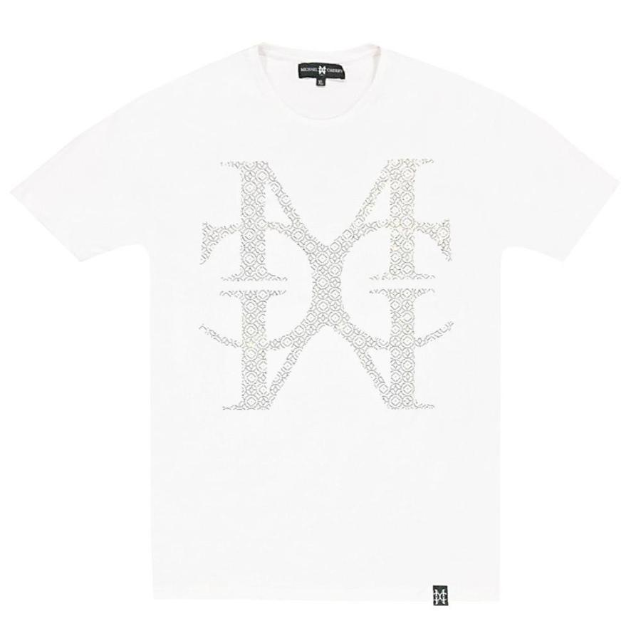 MC Jumbo Crystal Logo White tee