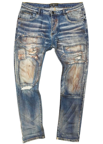 Denim Painted Jean