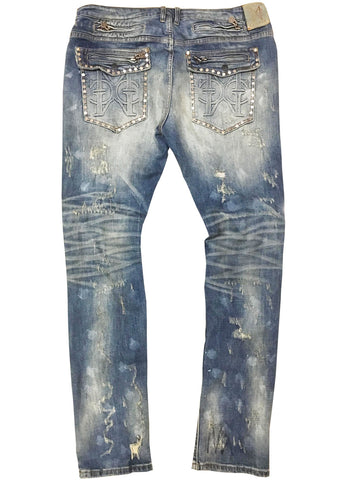 Denim Stud Jean