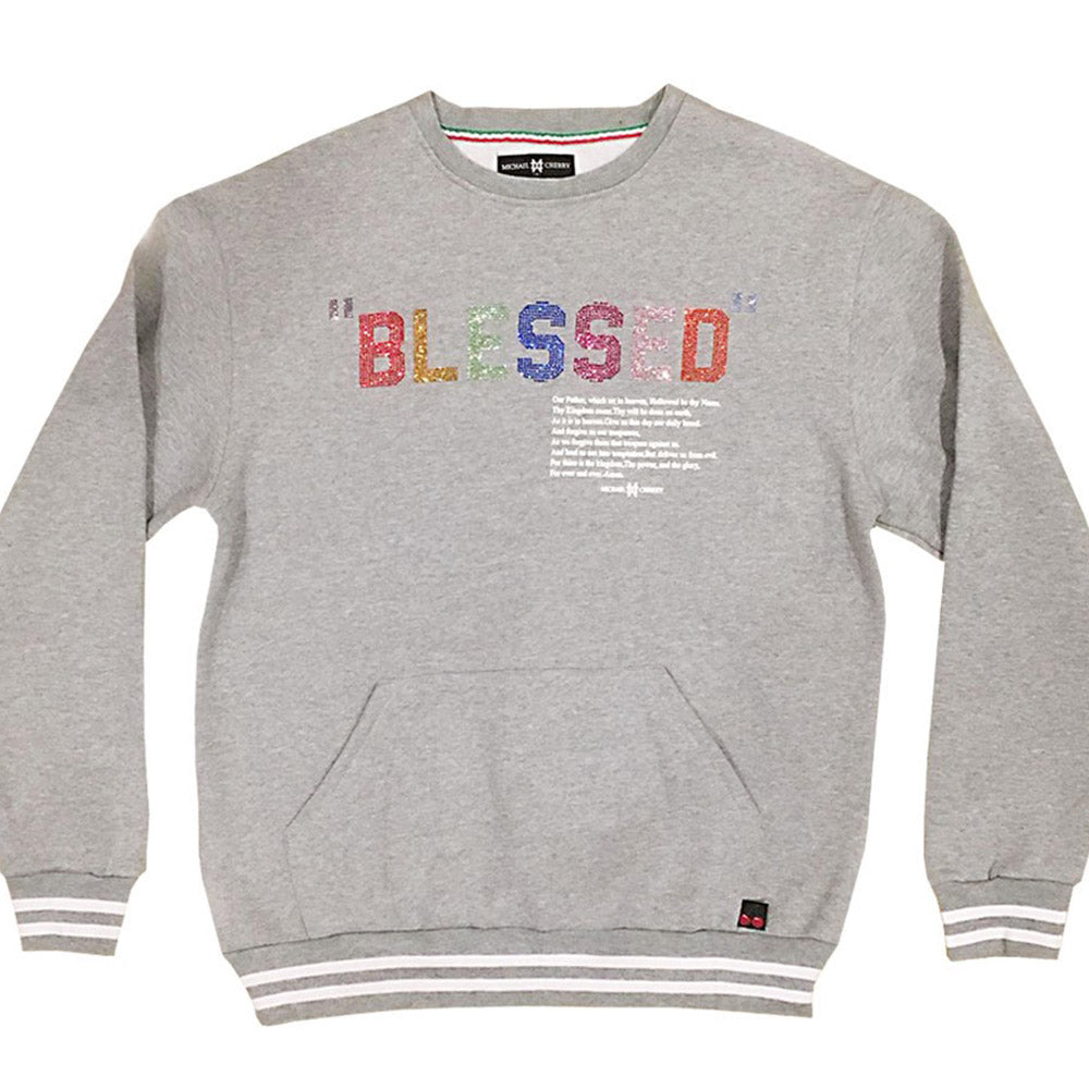 Blessed Sweatshirt heather grey ( 10 pcs left)