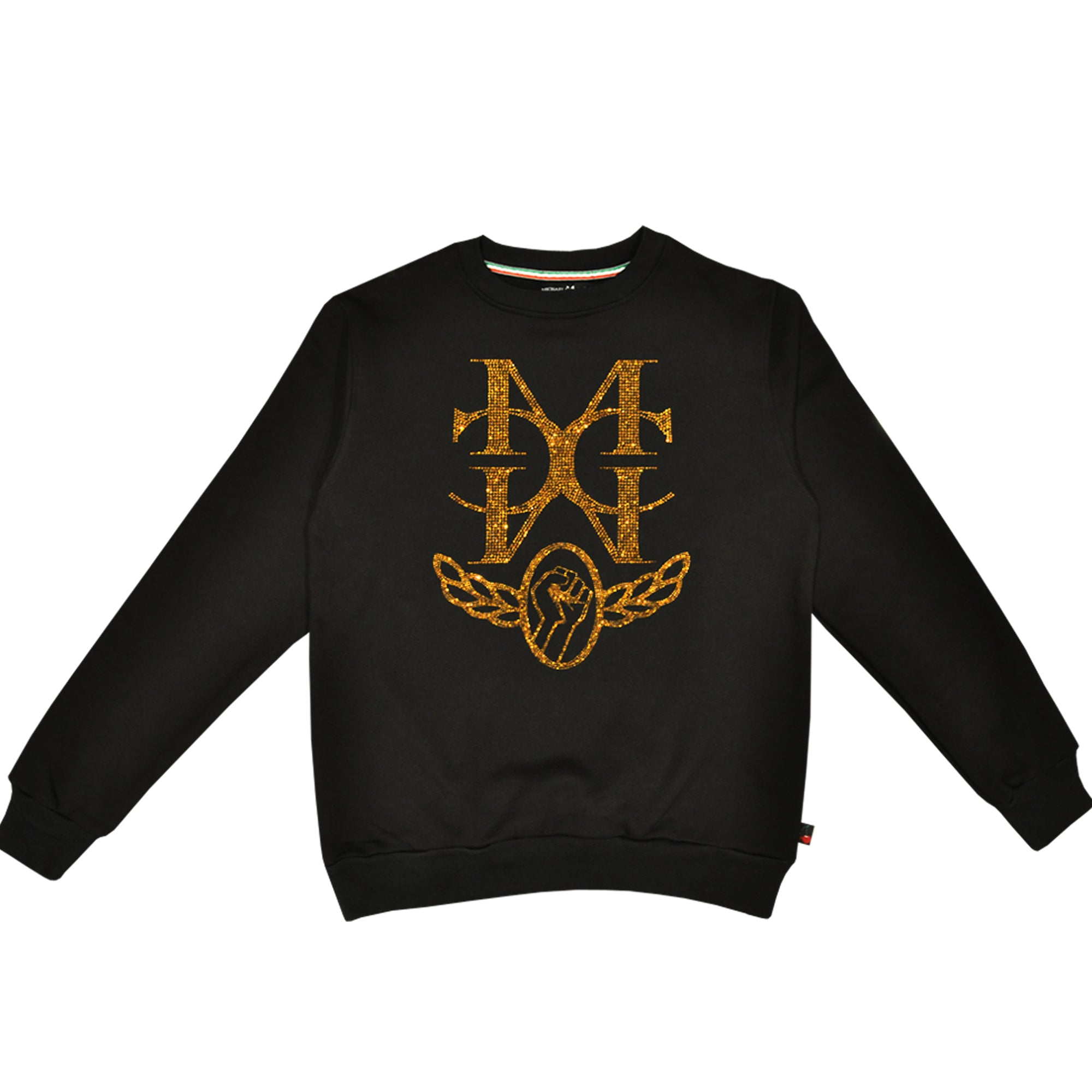 McMc  Sweatshirt Gold (WEBSITE ONLY)