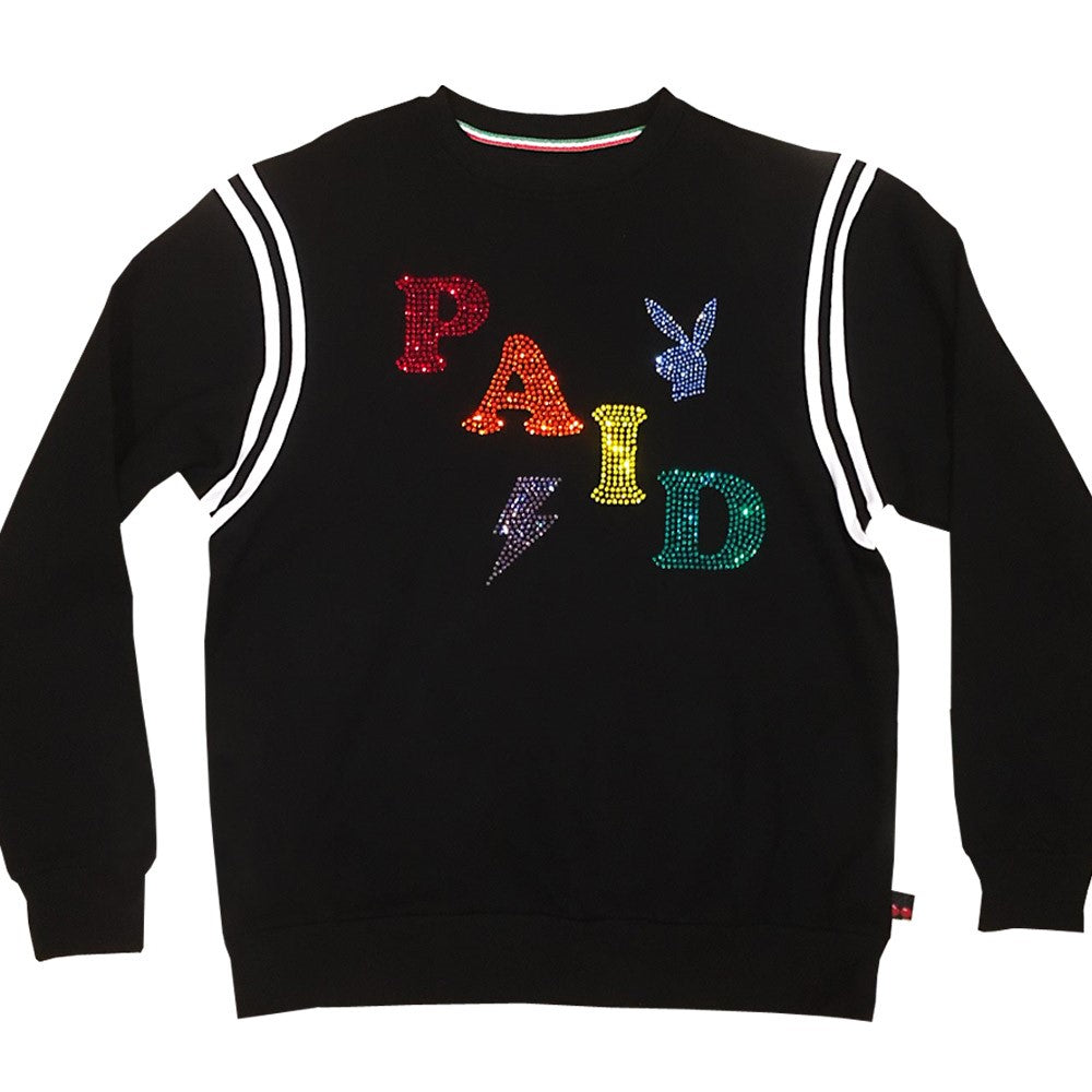 Paid Sweatshirt black ( 3 sizes left )