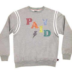 Paid Sweatshirt Heather grey ( Few pcs left )