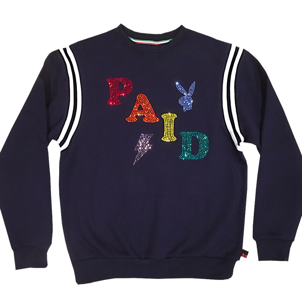 Paid Sweatshirt navy ( Few pcs left )