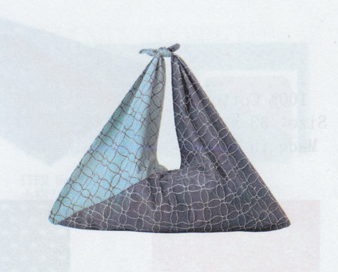 Triangle bag blue/navy blue
