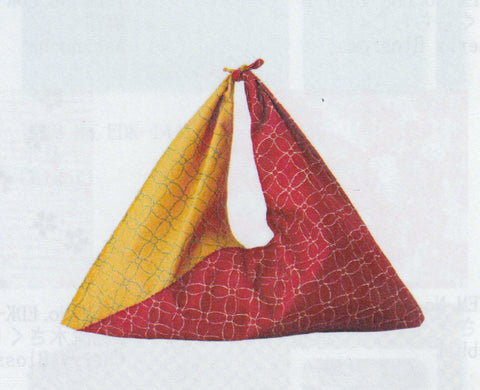 Triangle bag red/yellow