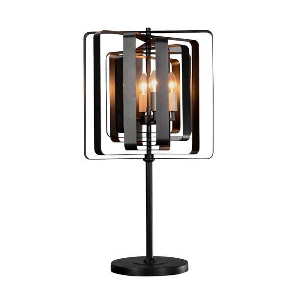 """Torcia"" 4-Bulb Candle-Style Table Lamp"