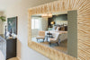 """Taiyoh"" Accent Wall Mirror"