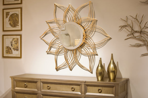 """Fiore"" Accent Wall Mirror"