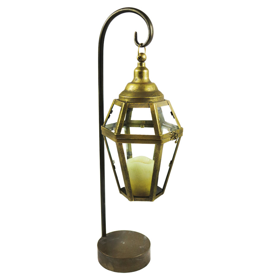 """Lieve"" Candle Lantern with Stand"