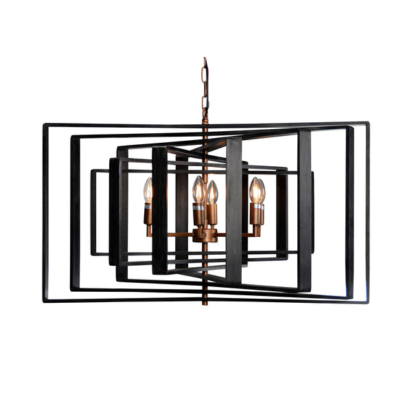"""Torcia I"" Candle-Style Chandelier"