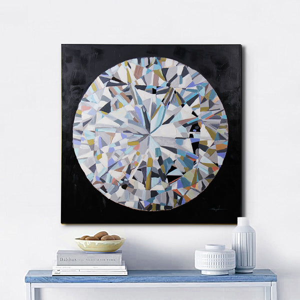 """Diamond"" Oil Painting"