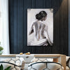 """View of Her Back"" Oil Painting"