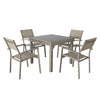 Magari Corte Ingrandire I Outdoor Dining Set, 5 Pieces