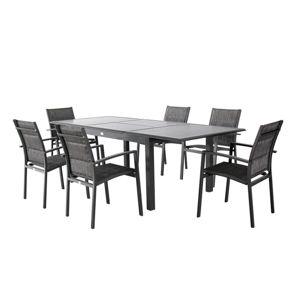 Magari Corte Ingrandire IV Outdoor Dining Set, 7 Pieces