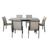 Magari Corte Ingrandire II Outdoor Dining Set, 7 Pieces