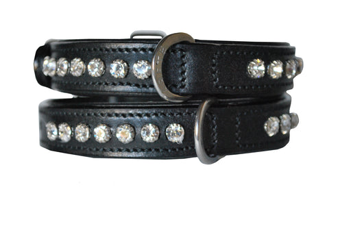 Diamond Stone Petite Luxury Dog Collar