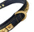REGAL EDITION HEAVY DUTY PYRAMID BRASS COLLAR -SINGLE ROW