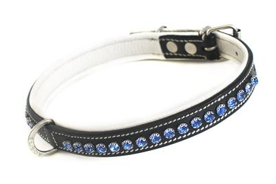 Royal Blue Stone Petite Luxury Dog Collar