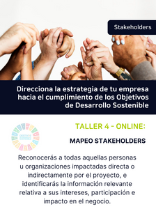 Taller 4. Mapeo Stakeholders - Materialidad Parte 2