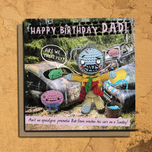 The Dead Thread™ Dad Birthday Card