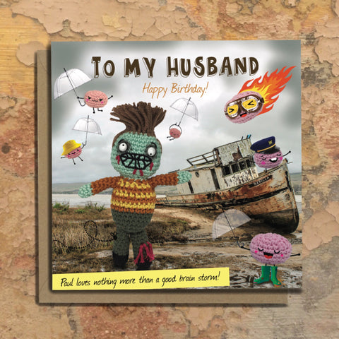 The Dead Thread™ Husband Birthday Card