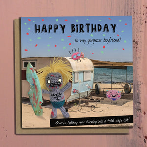 The Dead Thread™ Boyfriend Birthday Card